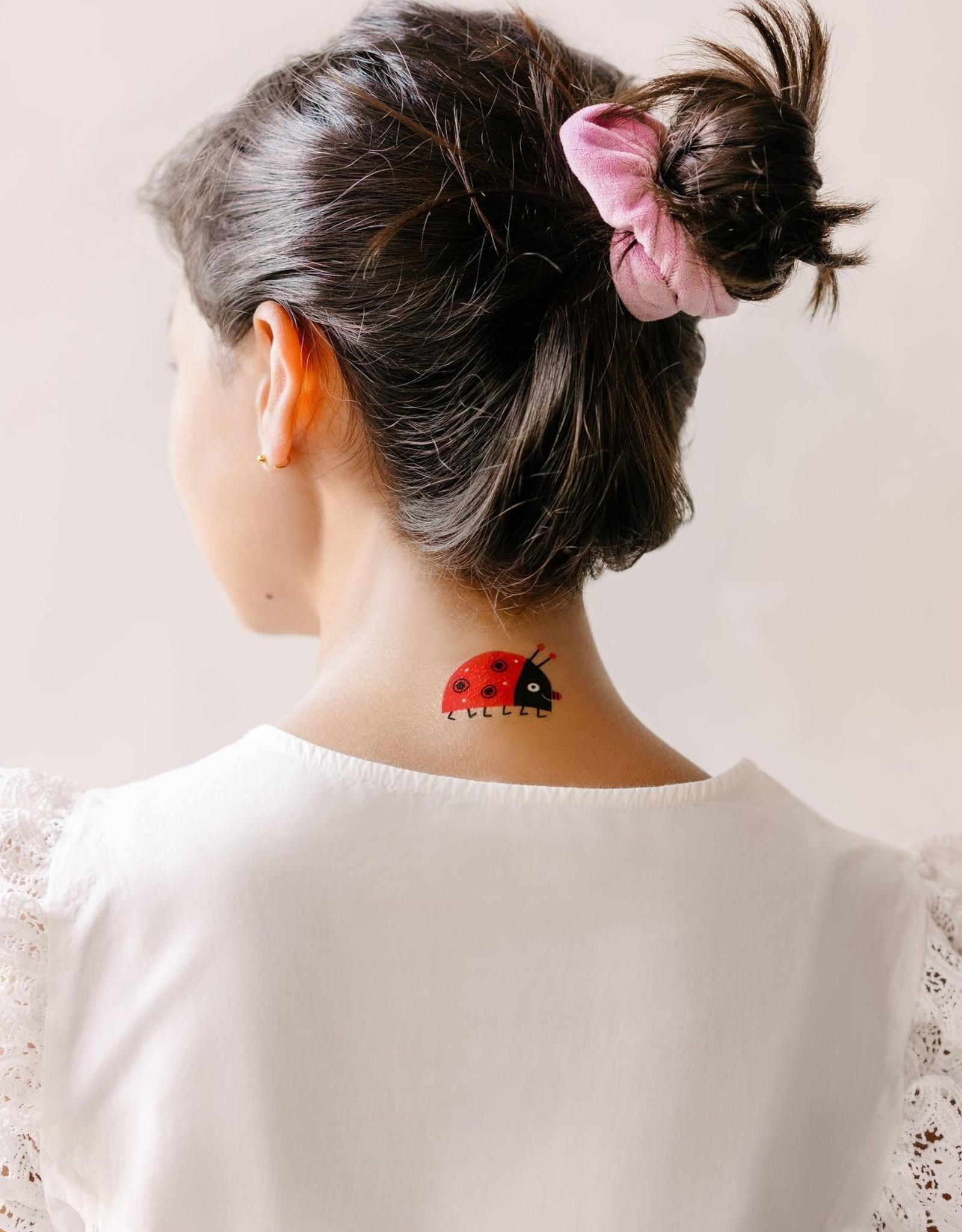 Tattly tattoo pair- mr. ladybug