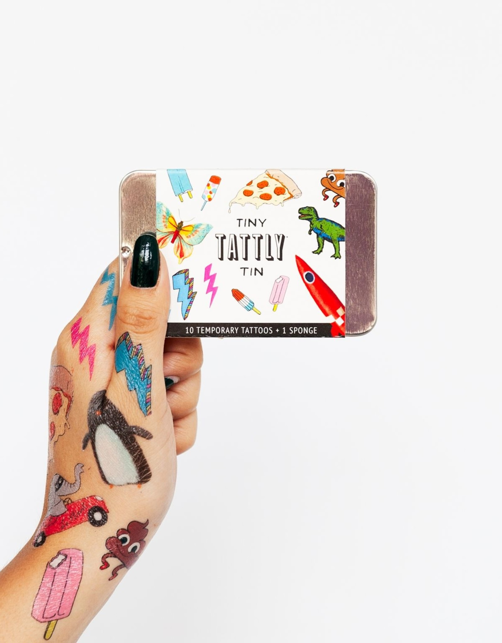 Tattly tattoo tin- funner
