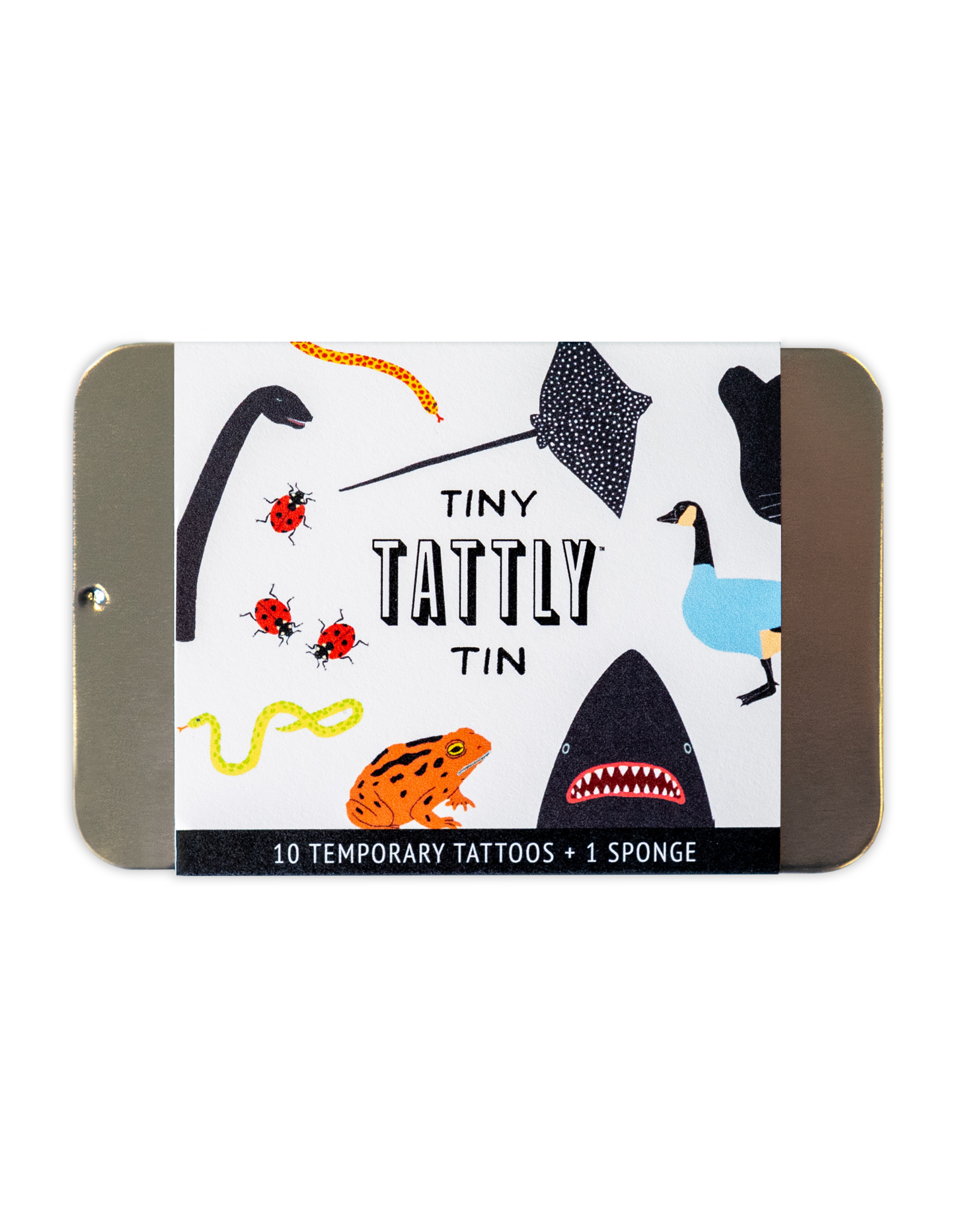 Tattly tattoo tin- animal