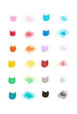 OOLY cat parade gel crayons