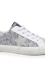 vintage havana stella- silver glitter