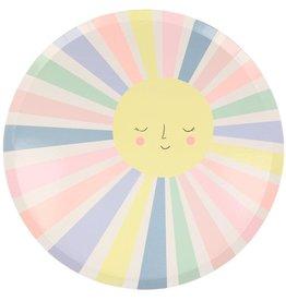 Meri Meri rainbow sun plates