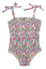 Shade Critters smocked onepiece- ditsy floral