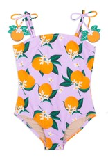 Shade Critters pom pom onepiece- oranges