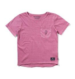 Munster Kids dropit ss tee- dusty pink