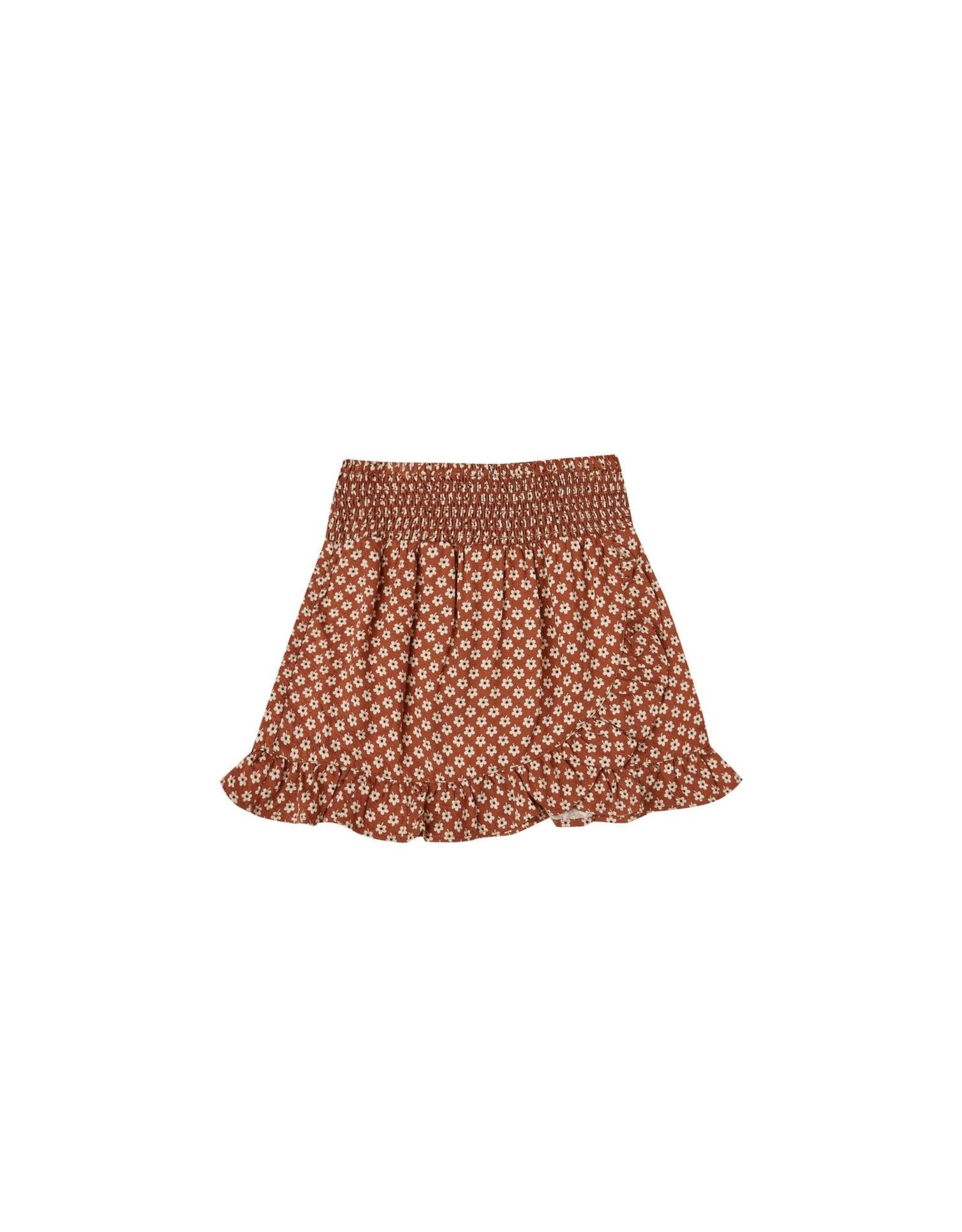 Rylee and Cru flower power wrap skirt