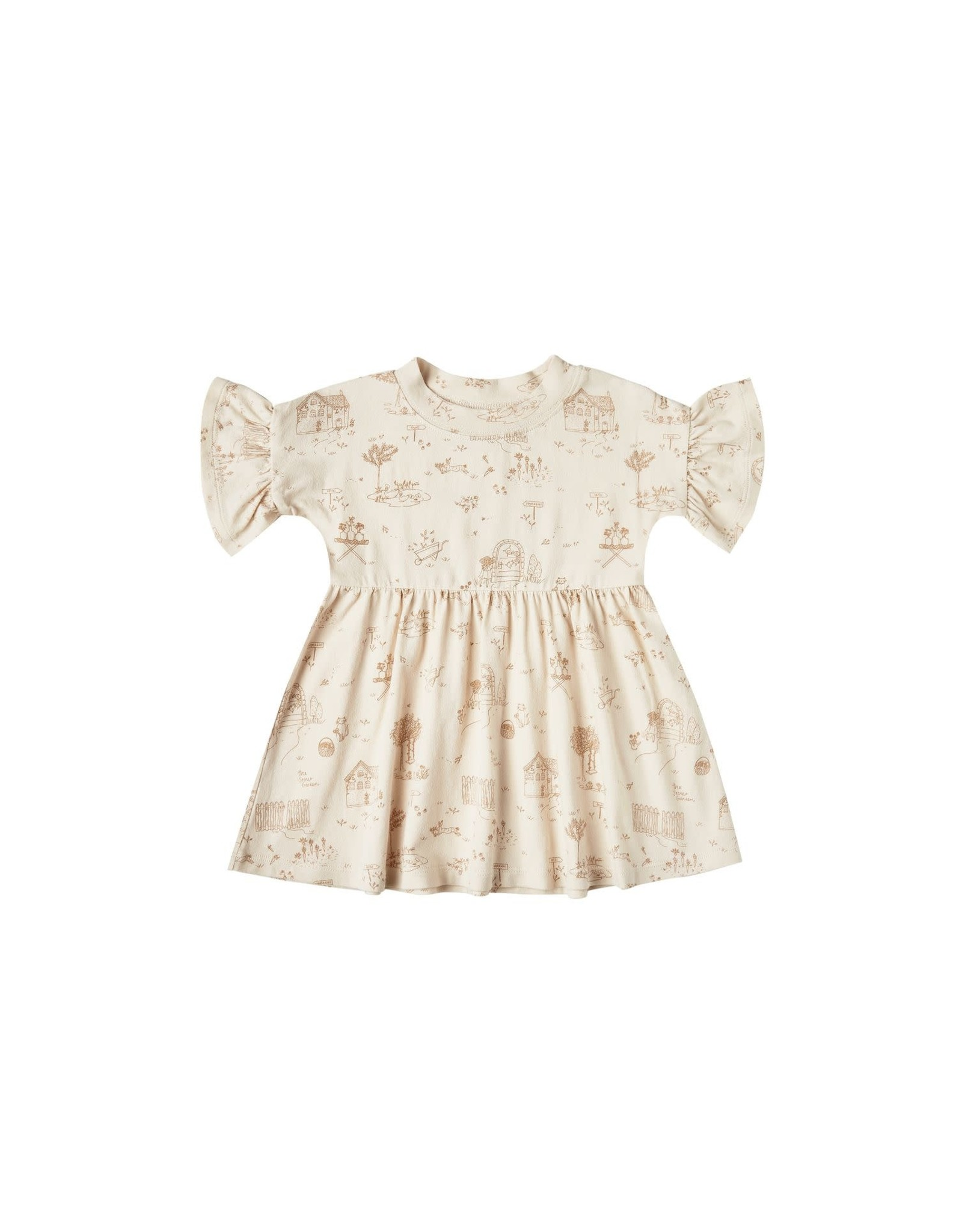 Rylee and Cru secret garden babydoll dress