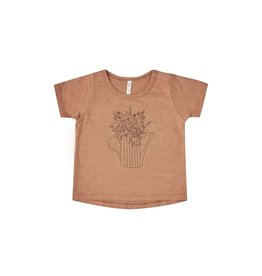 Rylee and Cru garden flowers tee