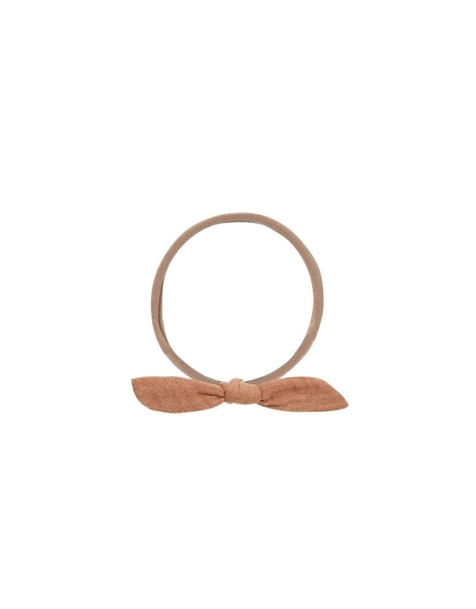 Rylee and Cru knot headband- terracotta