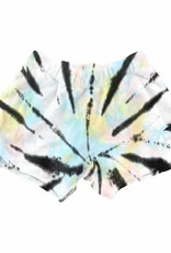 Tiny Whales summer nite tie dye short