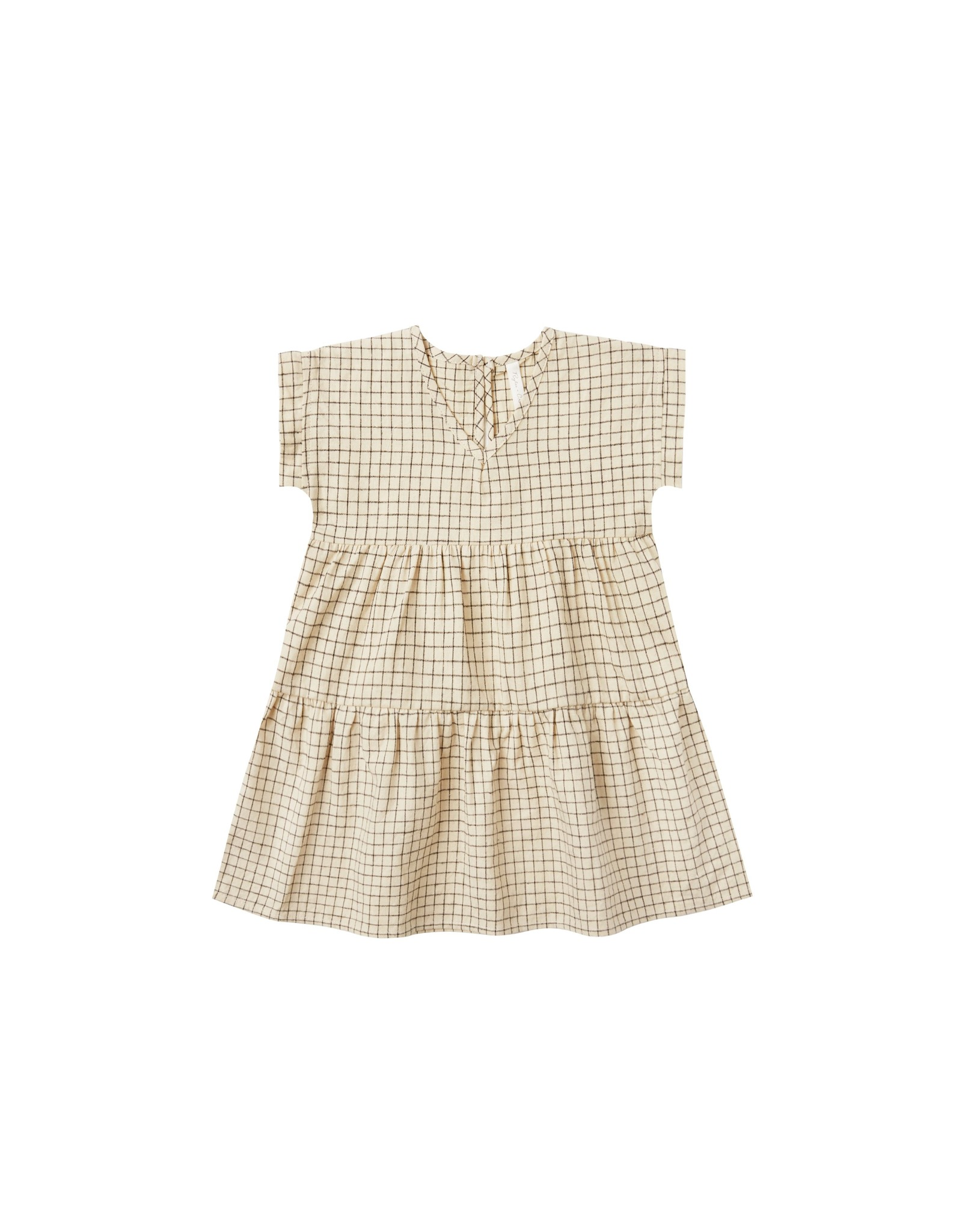 Rylee and Cru grid vienna dress