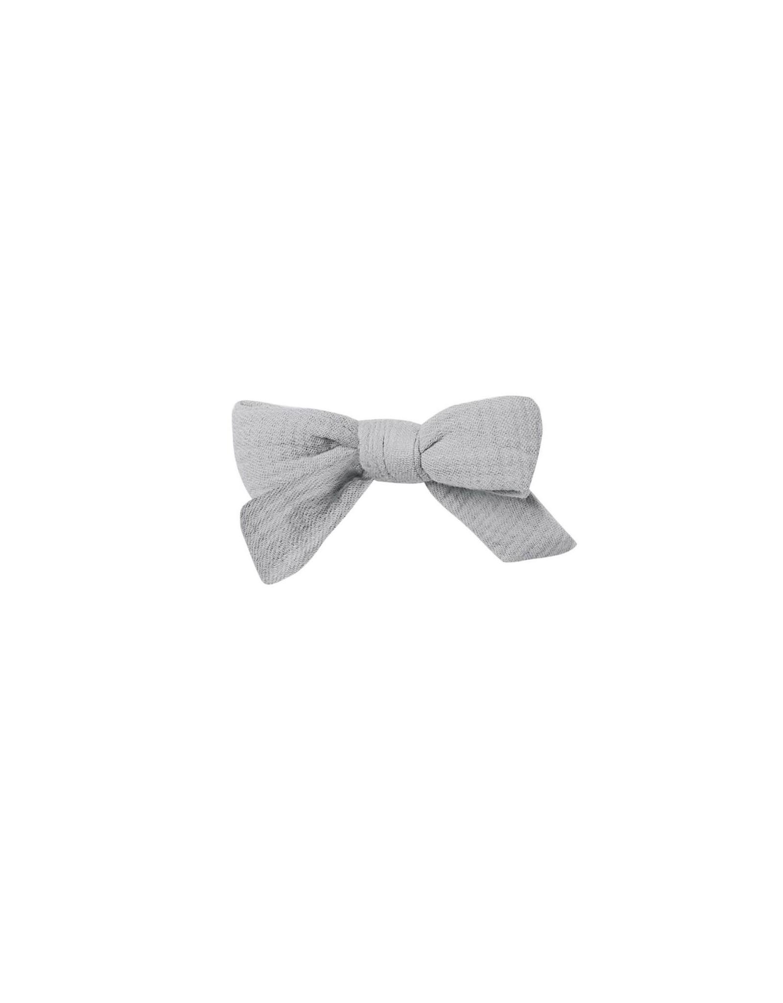 Quincy Mae schoolgirl bow- periwinkle