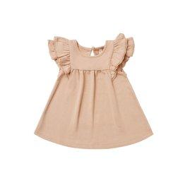 Quincy Mae flutter dress- petal
