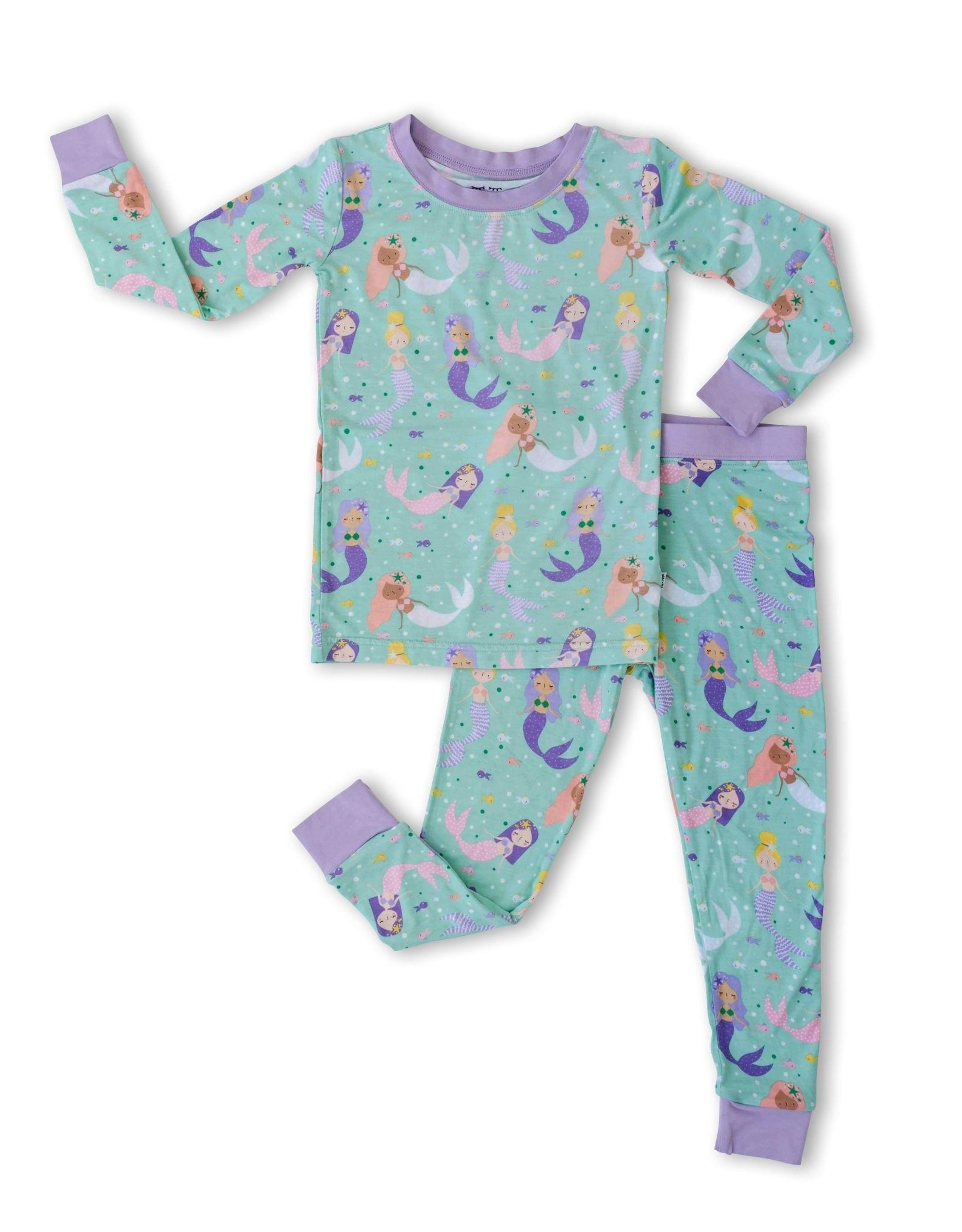 Little Sleepies mermaid magic pajamas