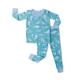 Little Sleepies sharks soiree pajamas