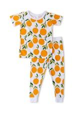 Little Sleepies clementines pajamas