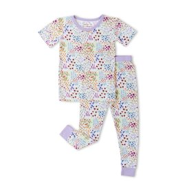 Little Sleepies flower fields pajamas