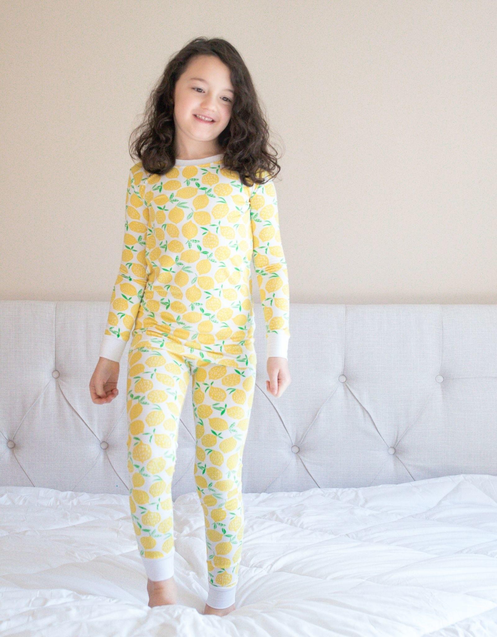 Little Sleepies lemons pajamas