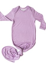 Little Sleepies knotted gown- wisteria