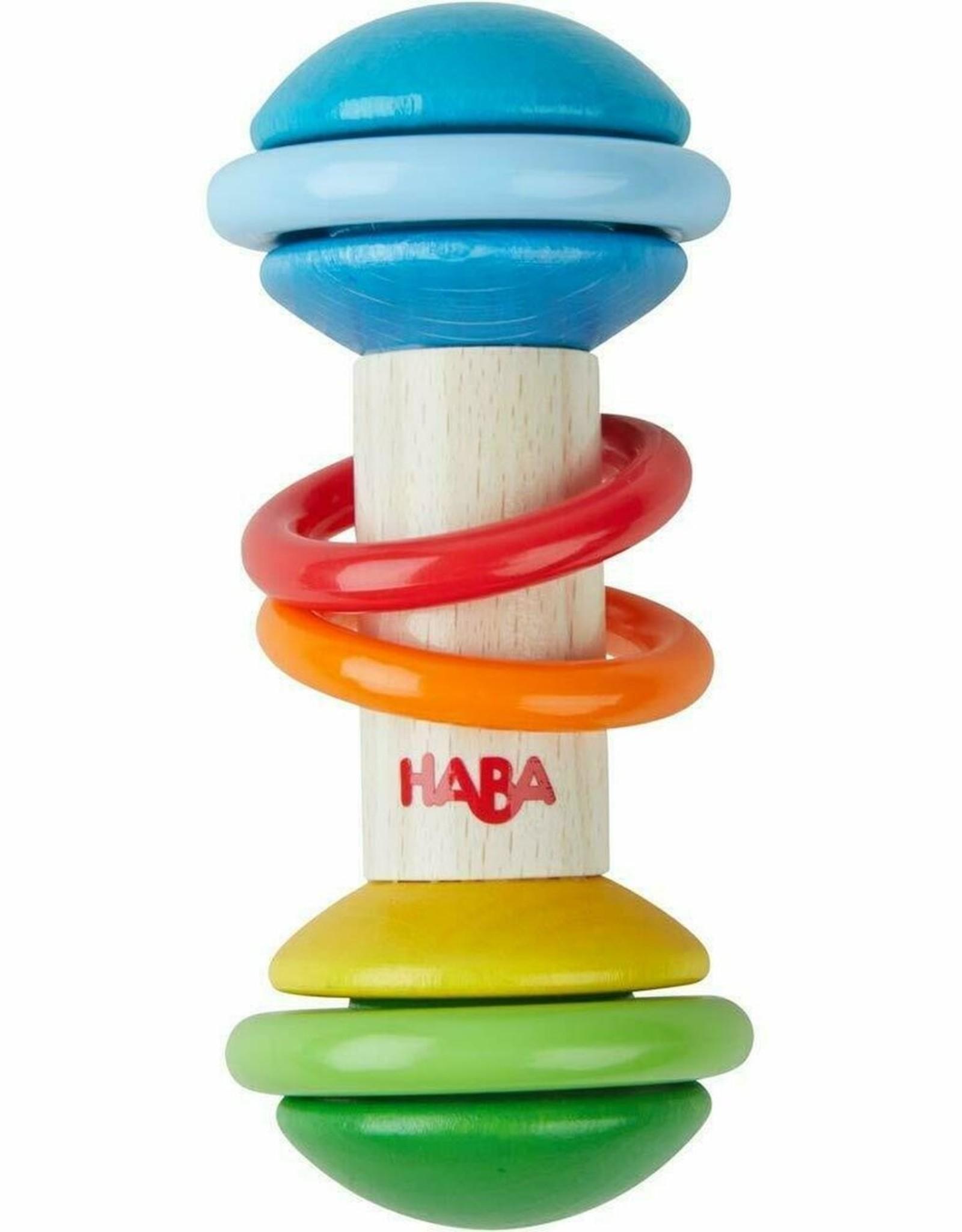 Haba rainmaker clutching toy