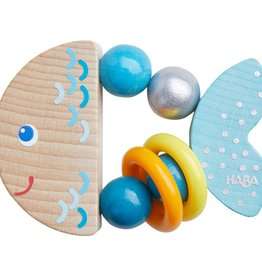 Haba rattlefish clutching toy