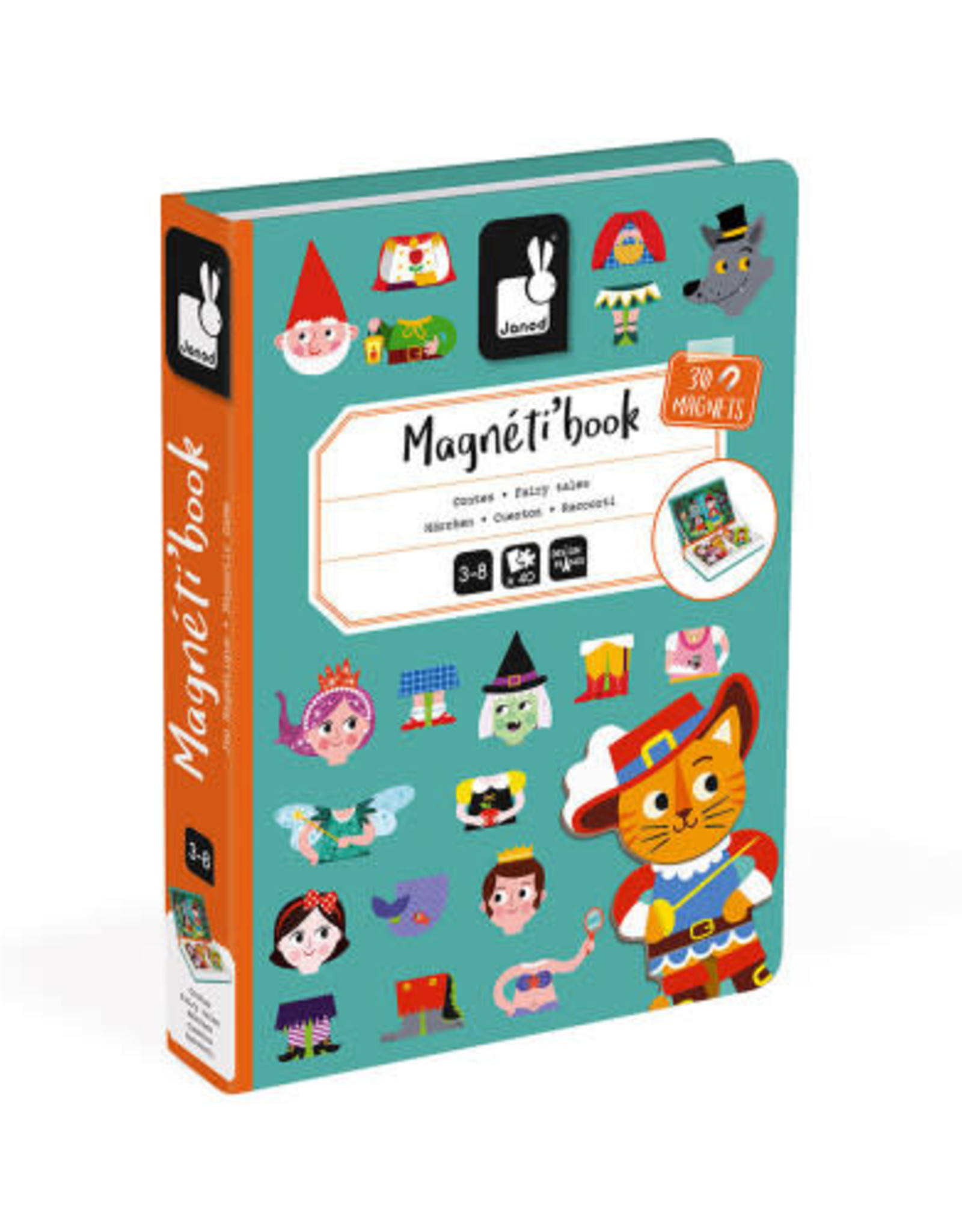 Janod magneti'book- fairy tales