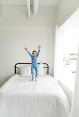 Little Sleepies blue milk and cookies pajamas