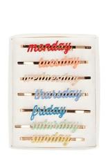 Meri Meri days of the week hairclips