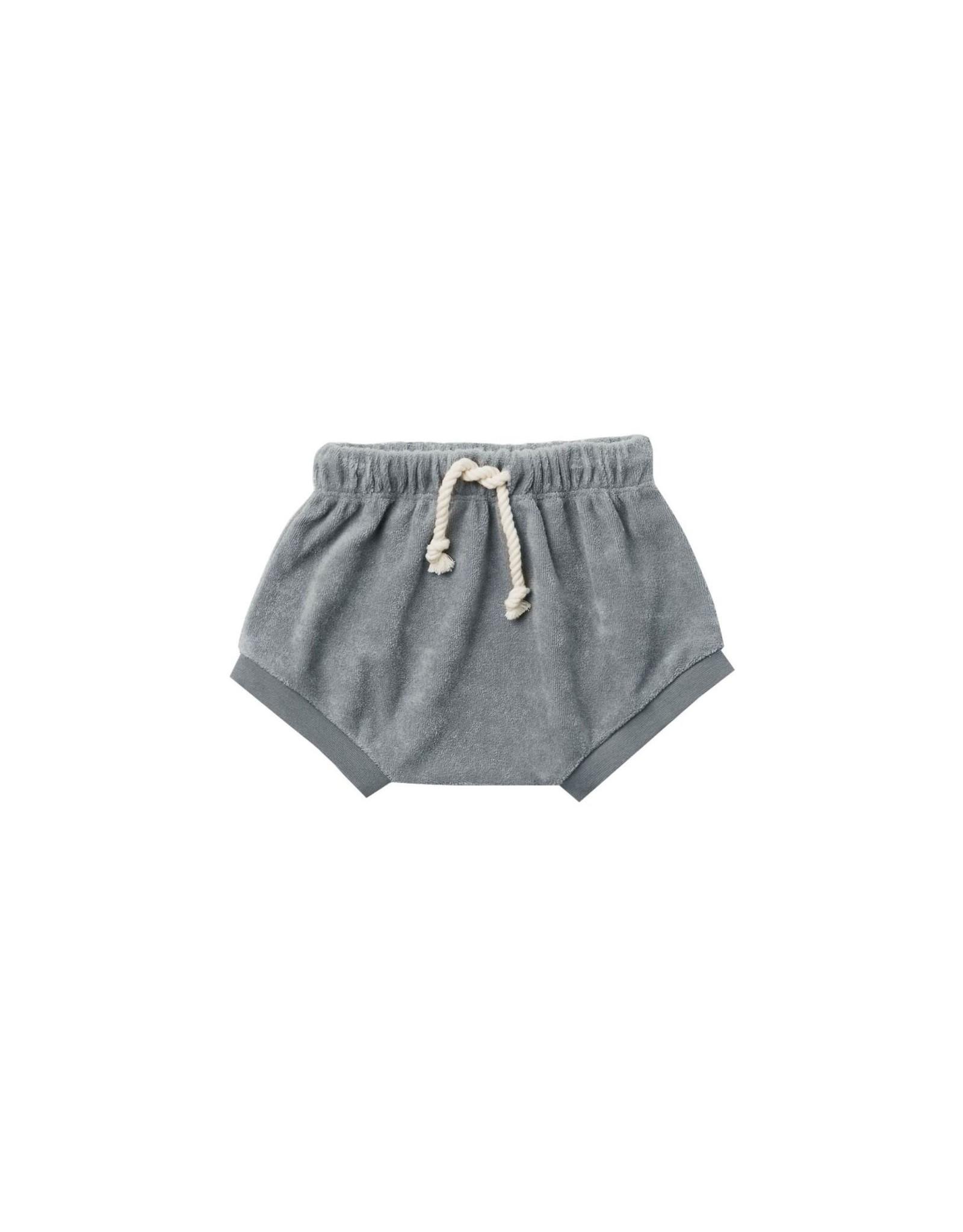 Quincy Mae terry shorts- ocean