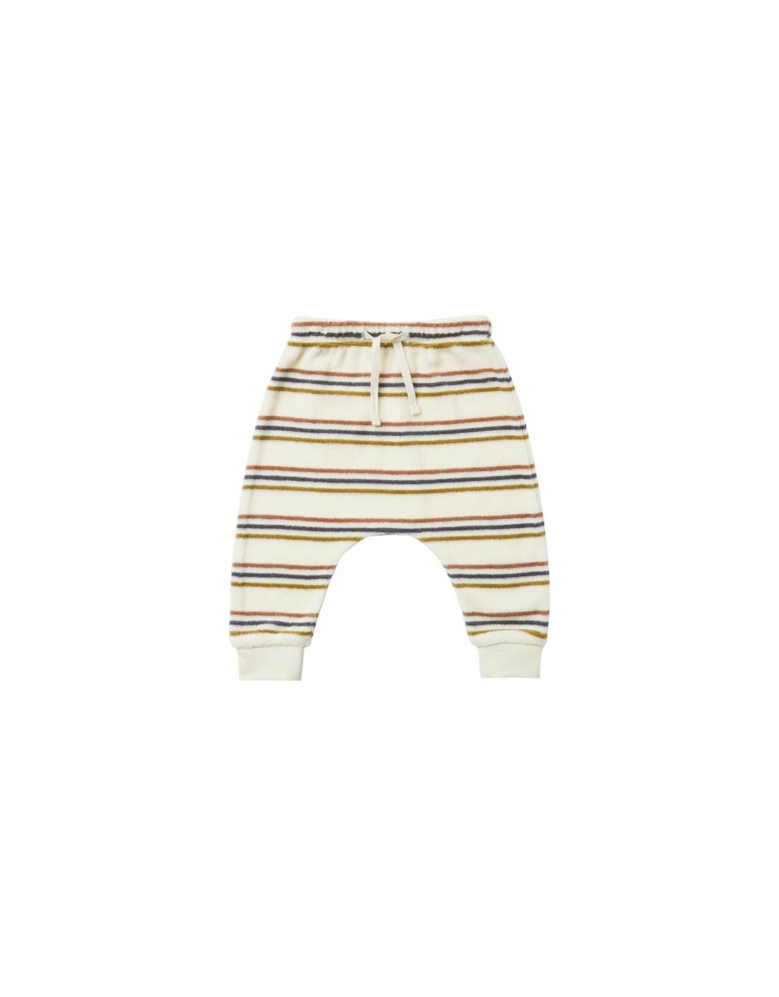 Quincy Mae sweatpant- retro stripe