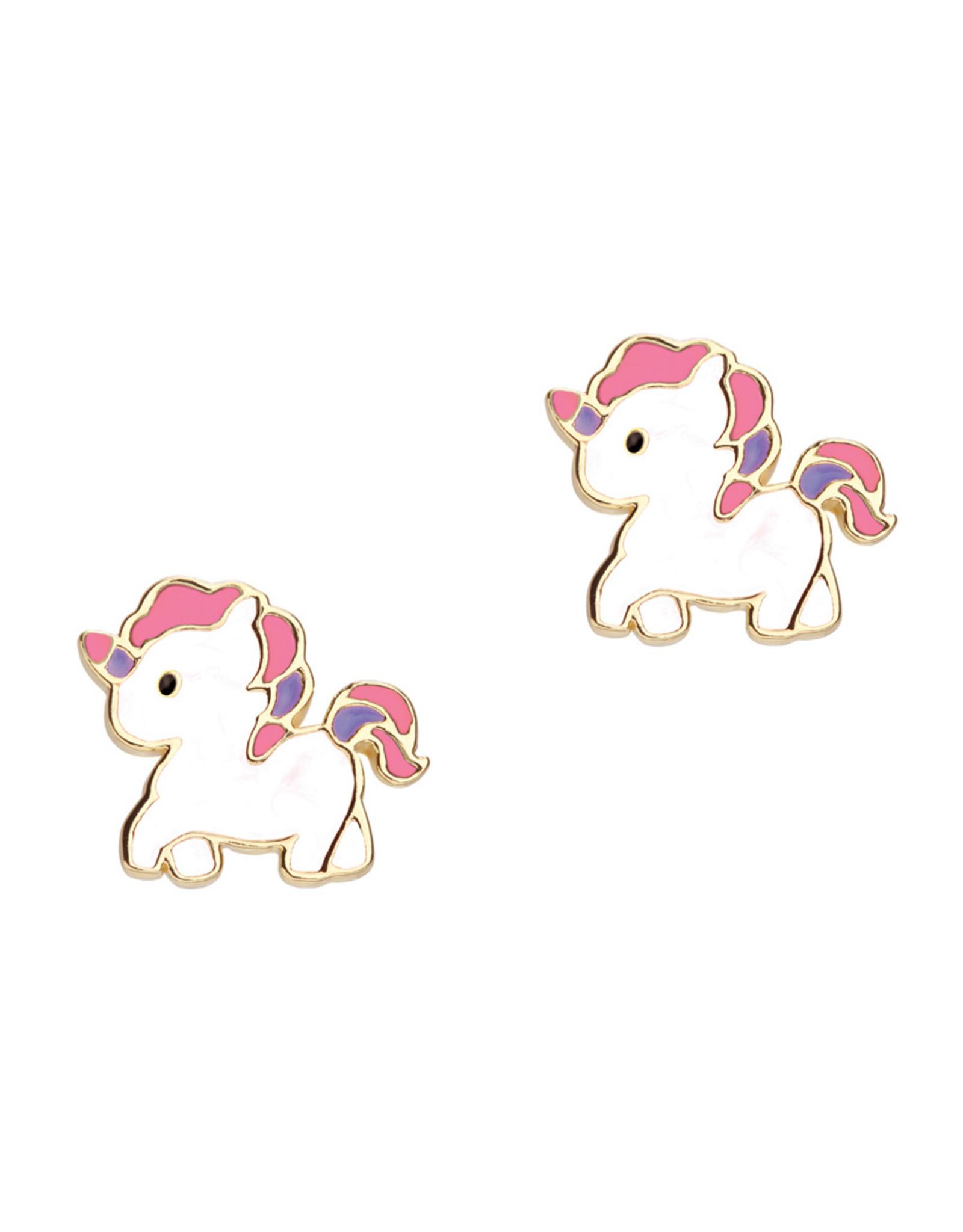 Girl Nation magical unicorn studs