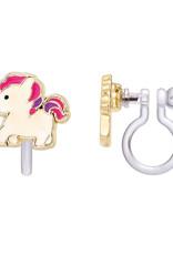 Girl Nation magical unicorn clip-on