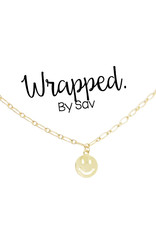 Wrapped by Sav happy necklace