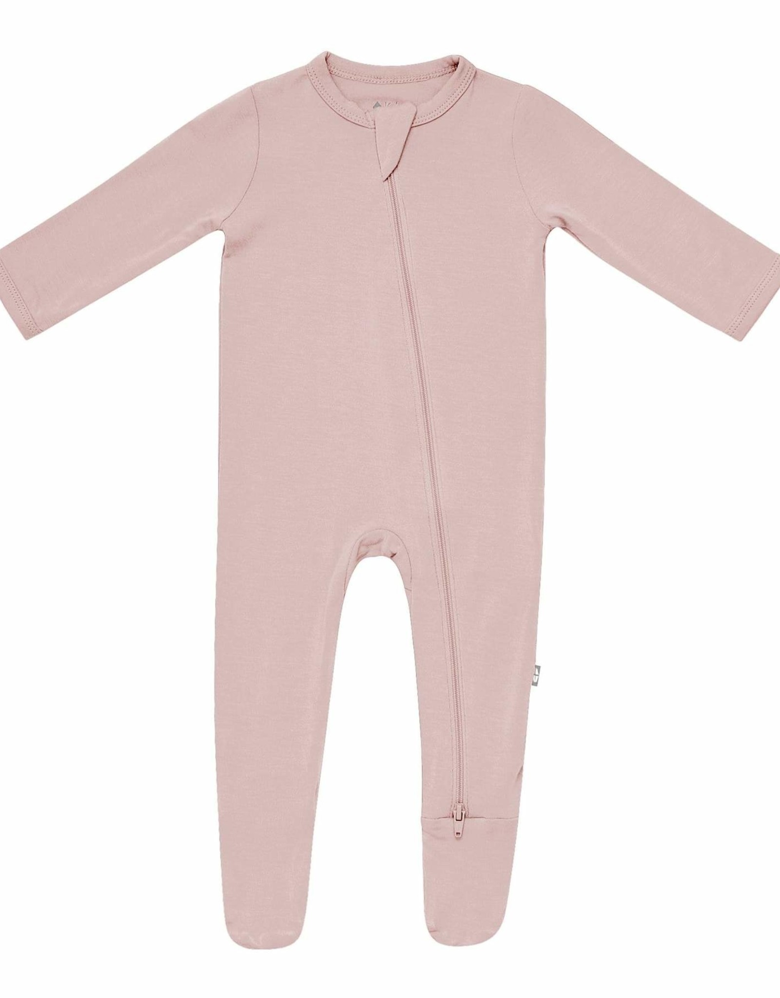 Kyte Baby zippered footie- sunset