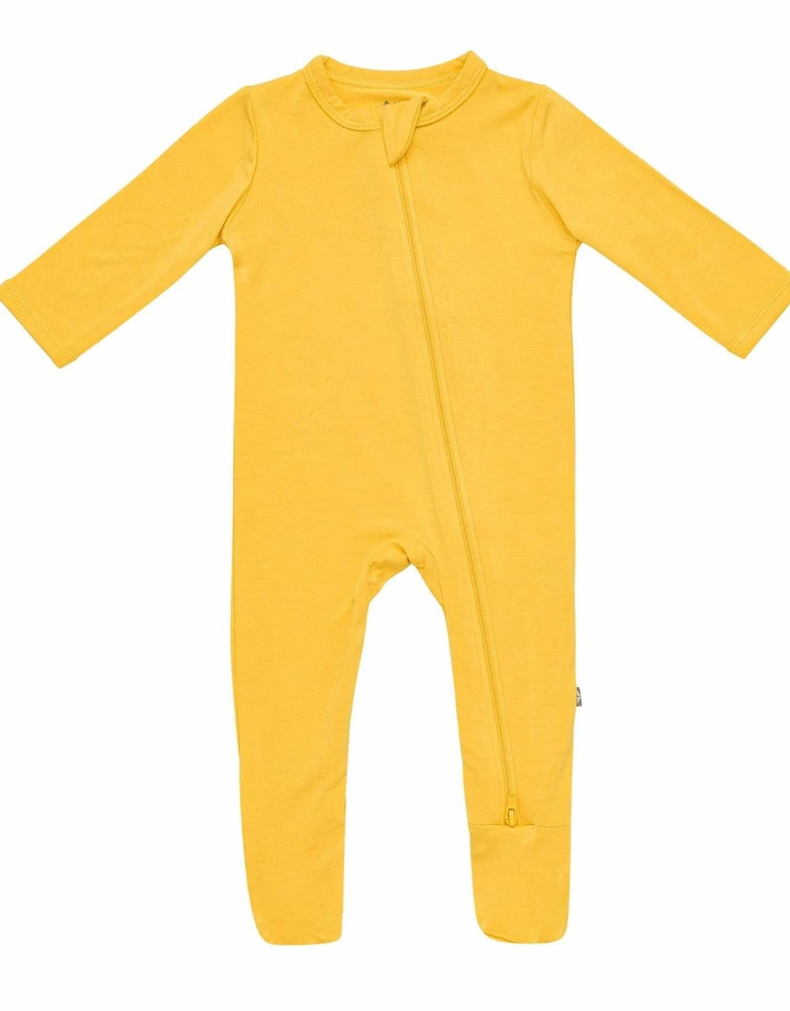 Kyte Baby zippered footie- pineapple