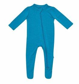Kyte Baby zippered footie- lagoon