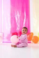 Kyte Baby zippered footie- bubblegum