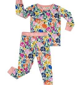 Little Sleepies summer garden pajamas