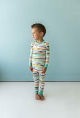 Little Sleepies summer stripe pajamas