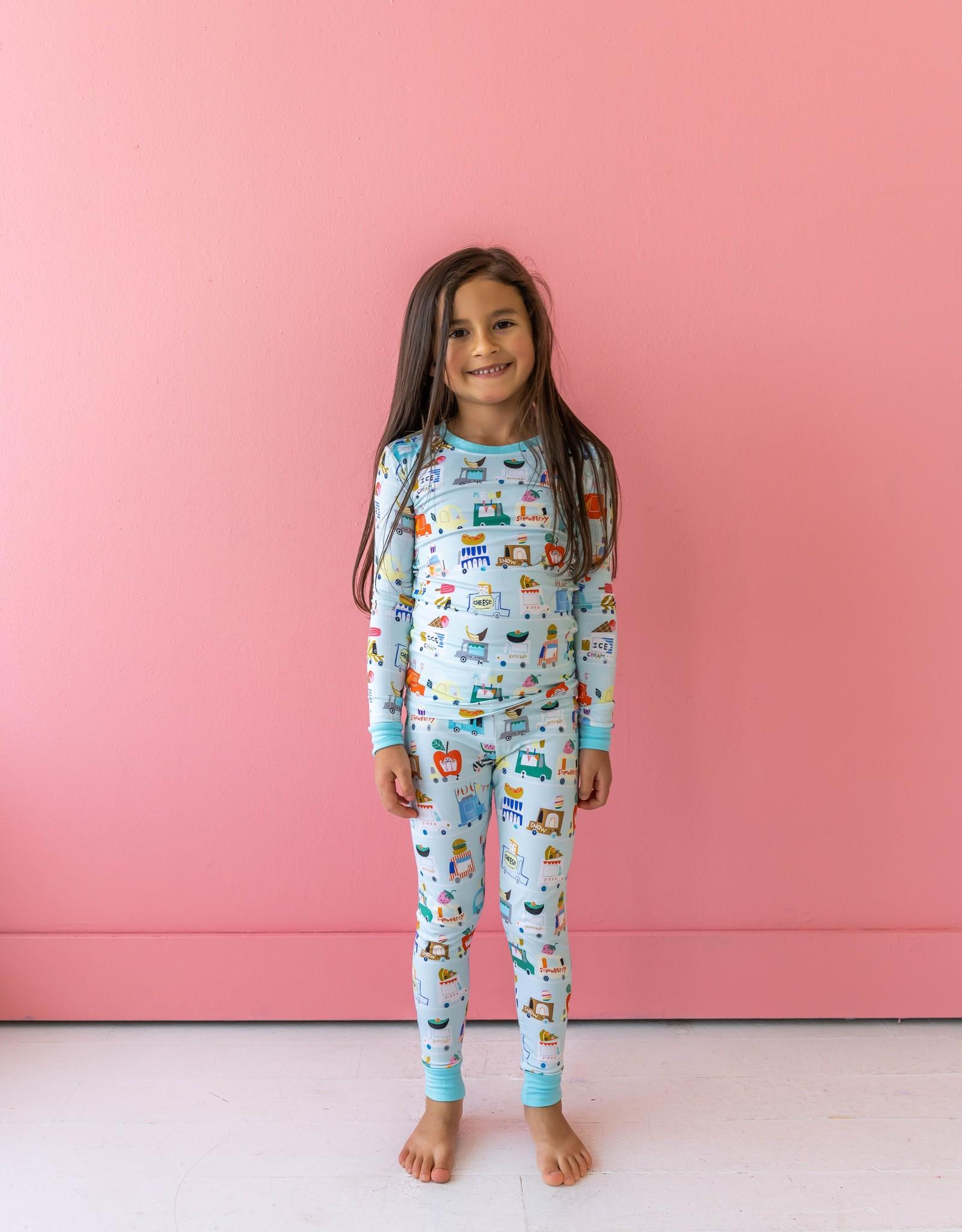Little Sleepies food trucks pajamas