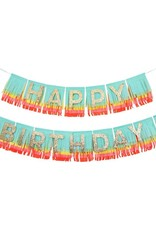 Meri Meri happy birthday rainbow garland