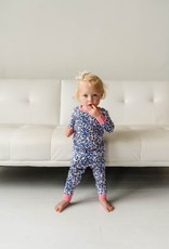 Little Sleepies wild leopard pajamas