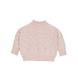 Huxbaby bubble pink sweater