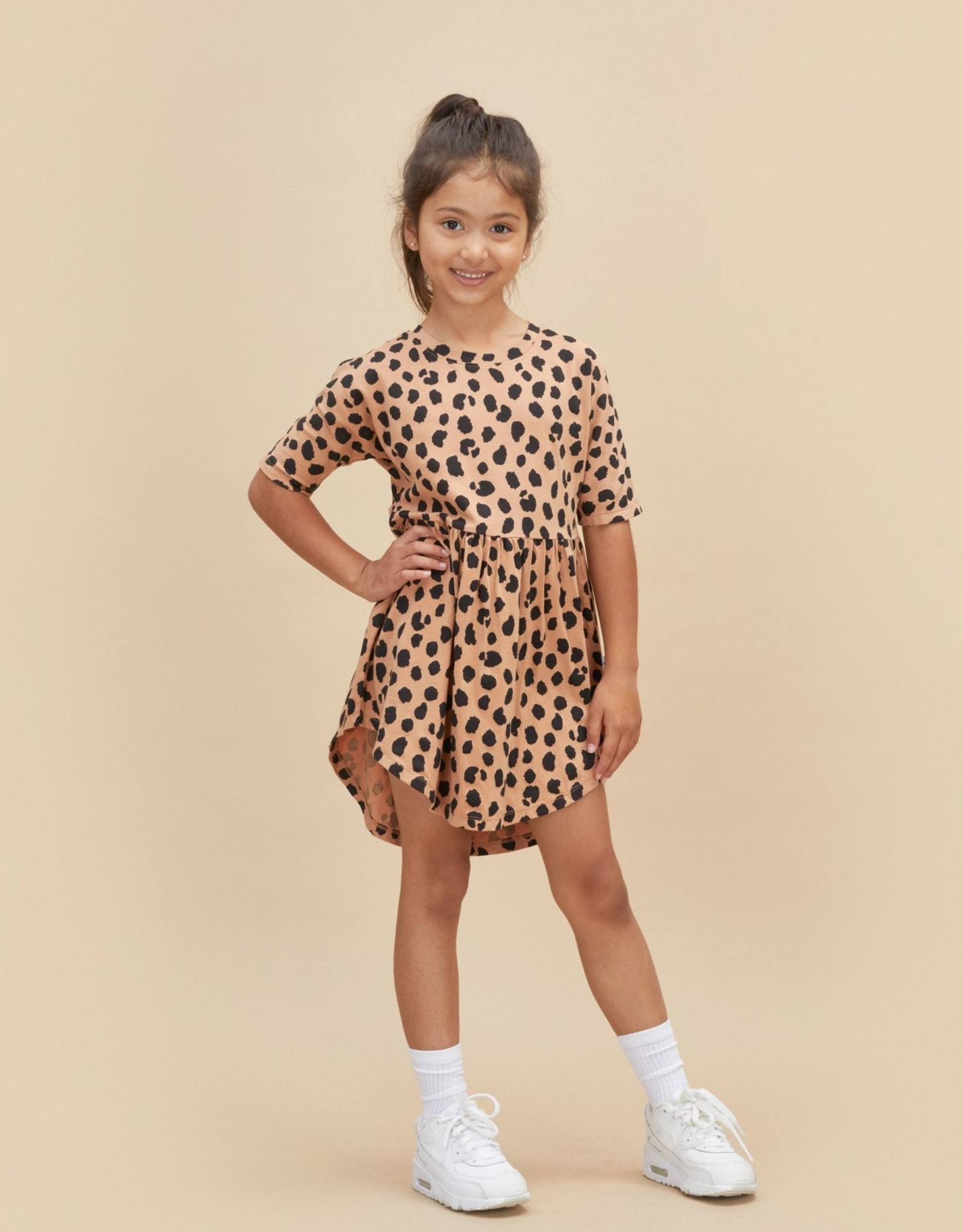 Huxbaby animal swirl dress
