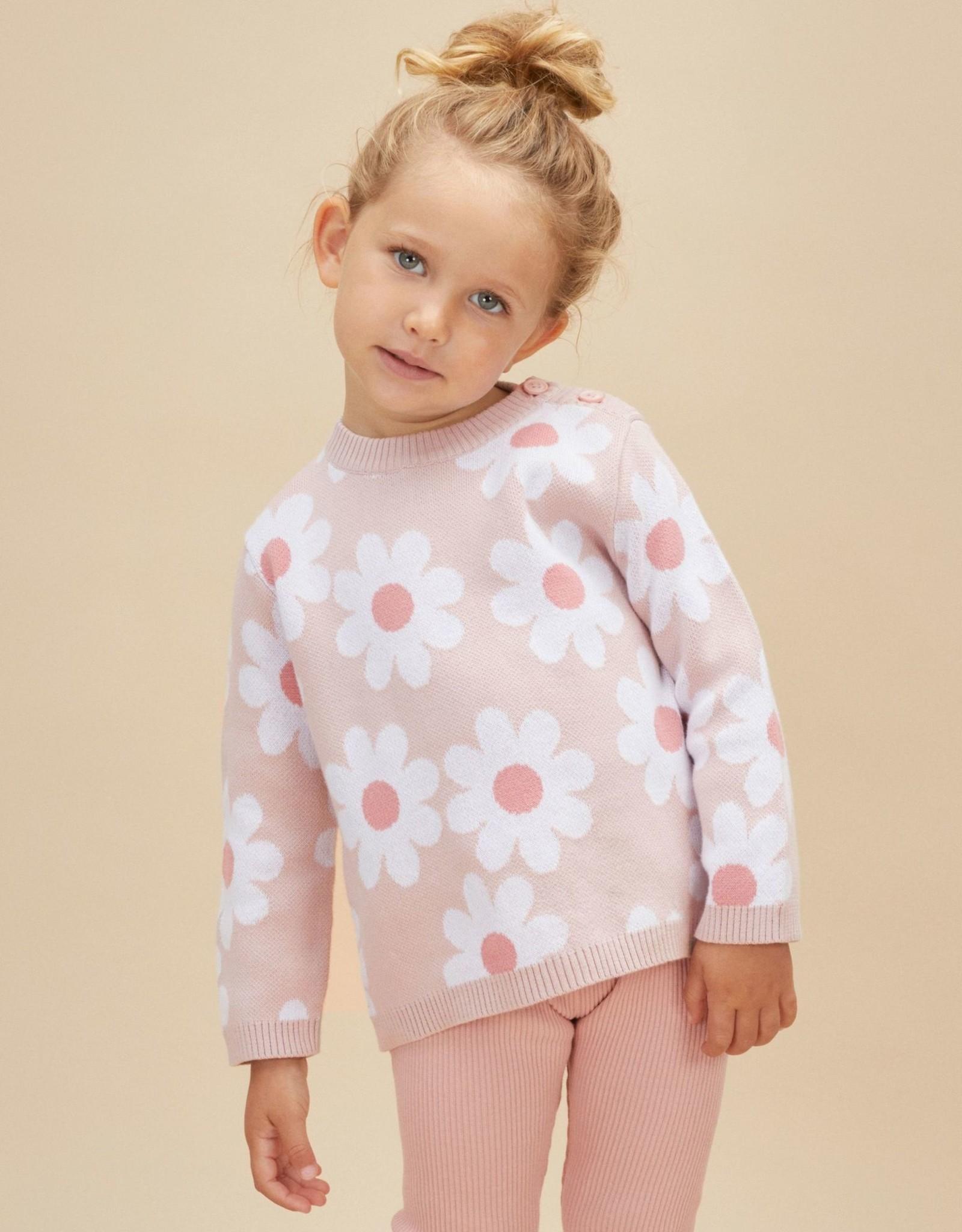 Huxbaby daisy sweater