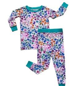 Little Sleepies sweet pea floral pajamas