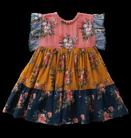 Pink Chicken kit dress- florals