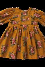 Pink Chicken evelyn dress- gold