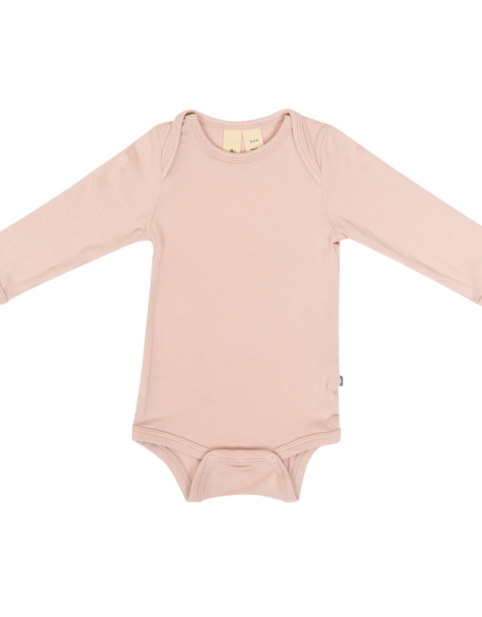 Kyte Baby l/s bodysuit - blush