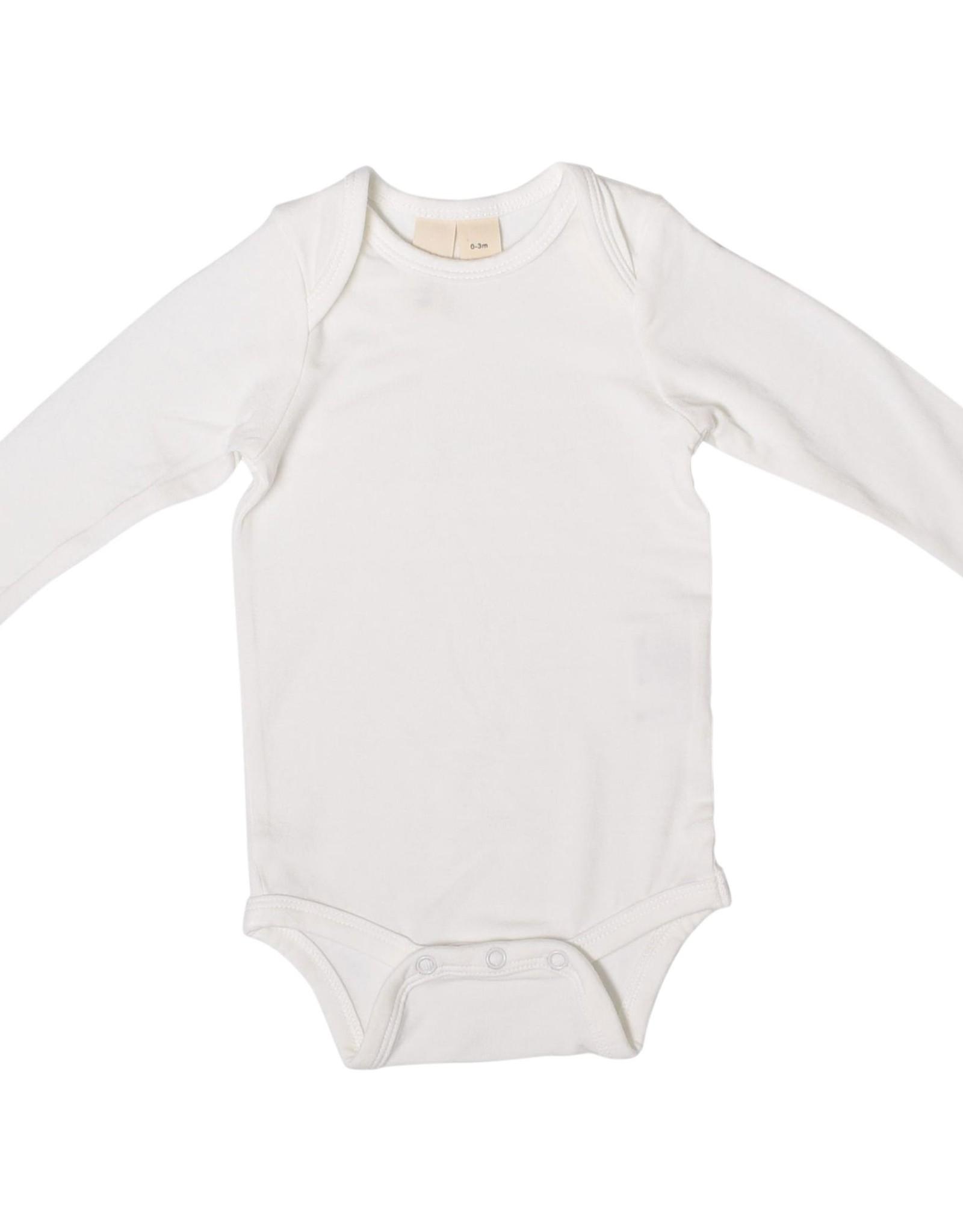 Kyte Baby l/s bodysuit - cloud